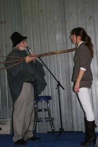 Maestri 2007: Giorgia Gherardi con il Rezdòr durante la cerimonia di promozione a Maestra Assaggiatrice