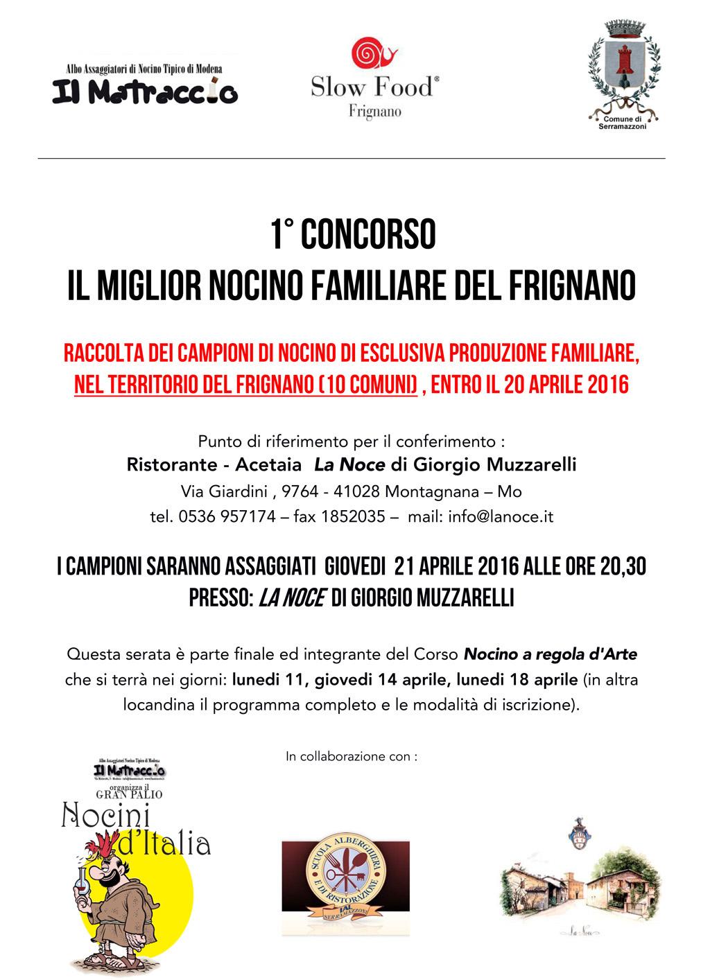 CONCORSO 2016 Frignano 1